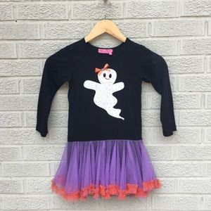 Haven Girl Sequin Ghost Tulle Dress